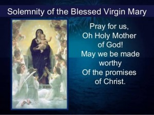 virgin mary Story of blessed the